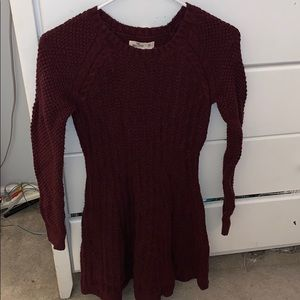 super comfy sweater dress